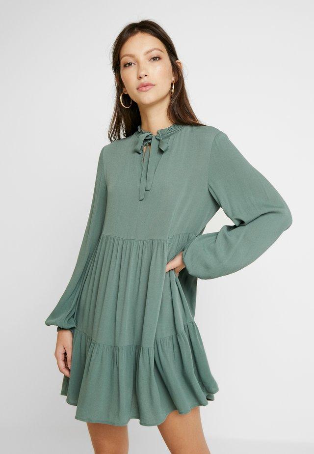 HEATHER DRESS - Day dress - grün