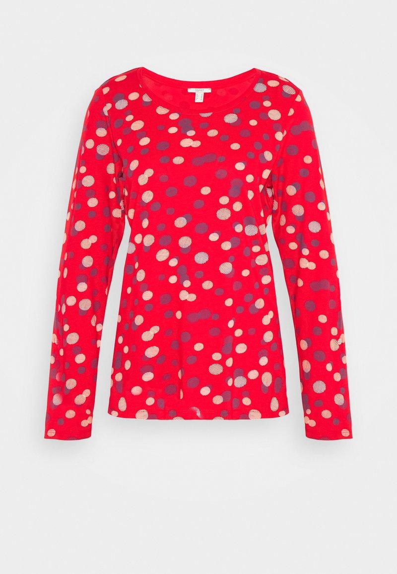 Esprit - TEE - Maglietta a manica lunga - red