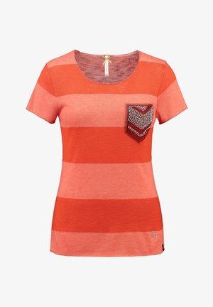 """KEY LARGO DAMEN T-SHIRT """"JANA"""" - Print T-shirt - orange (33)"""
