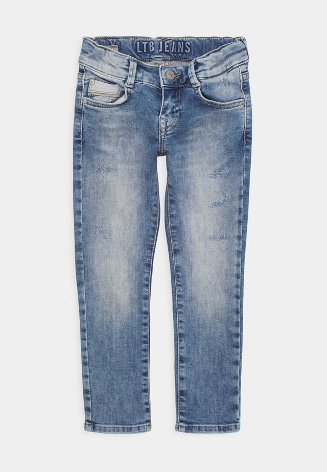 NEW COOPER - Slim fit jeans - storm blue wash