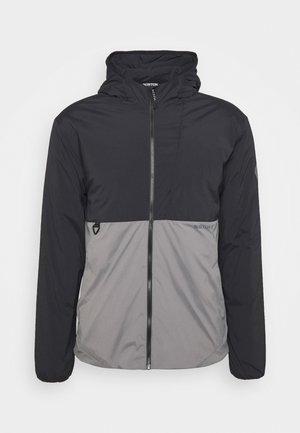 Winter jacket - black/grey