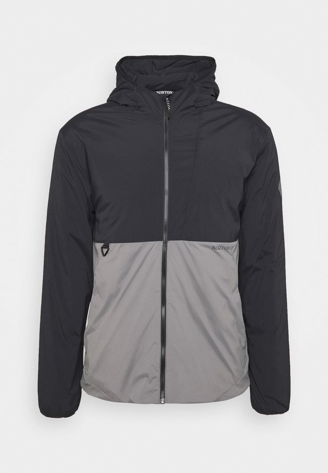 Winterjas - black/grey