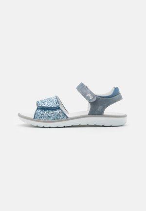 Sandaalit nilkkaremmillä - avio/navy
