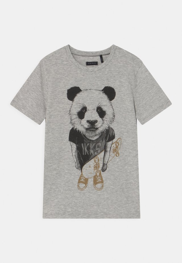 T-shirts med print - gris
