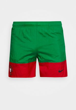 PORTUGAL SHORT - Sports shorts - pine green/sport red/black