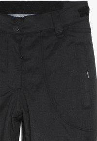 Rojo - PANT - Pantaloni da neve - true black - 4