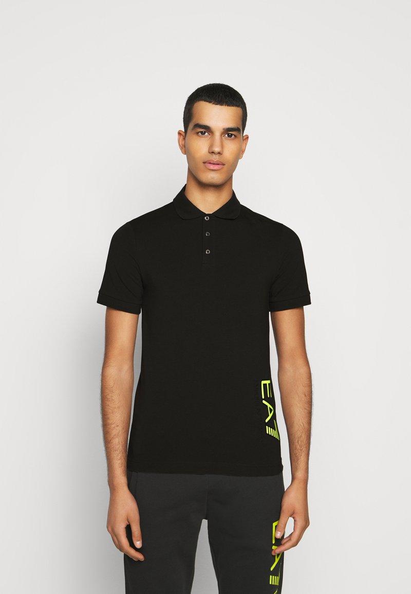 EA7 Emporio Armani - Poloshirts - black