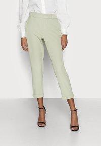Vero Moda Petite - VMMAYA SOLID PANT - Trousers - desert sage - 0