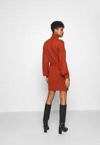 Fashion Union - LEOTI - Jumper dress - brown - 2