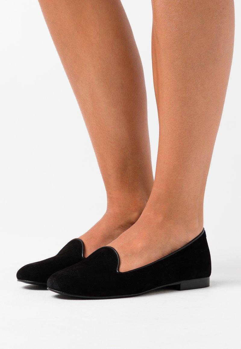 Chatelles - CLASSIC - Nazouvací boty - françois black