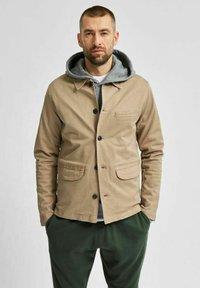 Selected Homme - Summer jacket - greige - 0