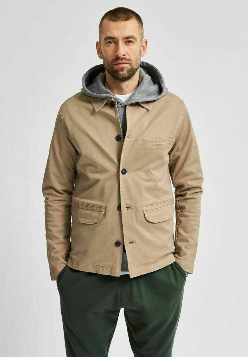 Selected Homme - Summer jacket - greige