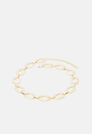PCAPRIL CHAIN WAIST BELT - Midjebelte - gold-coloured