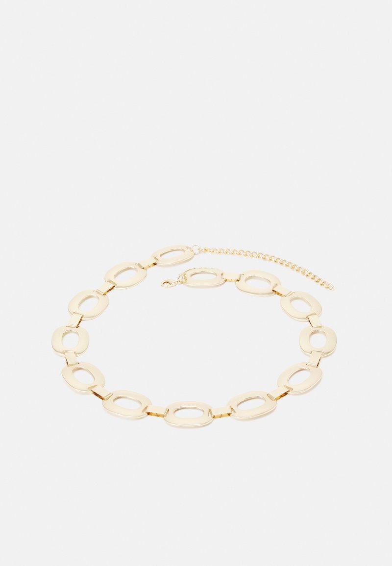 Pieces - PCAPRIL CHAIN WAIST BELT - Cinturón - gold-coloured