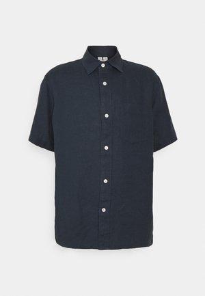 LINEN SHIRT - Shirt - blue