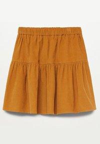 Mango - PANITA - A-line skirt - mosterd - 1