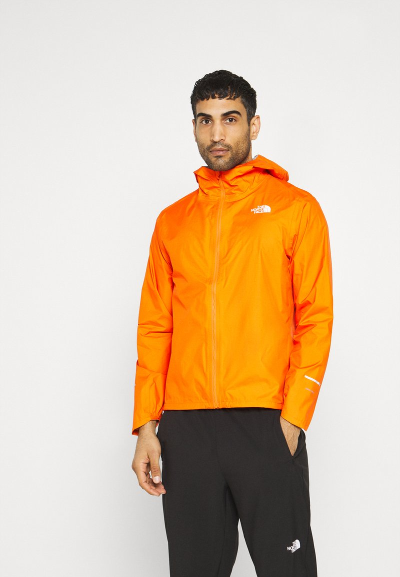 The North Face - FIRST DAWN PACKABLE JACKET MONTER - Hardshelljacka - flame