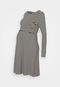 DELPHINE - Jersey dress - blacksand