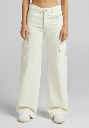 Cargo trousers - off-white