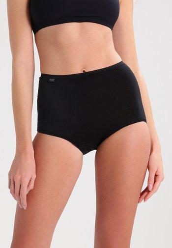 24/7 3 PACK - Pants - black