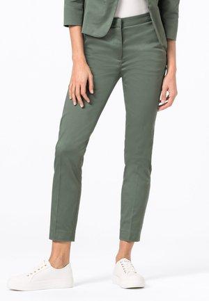 CHARLOTTE  - Trousers - seegrün