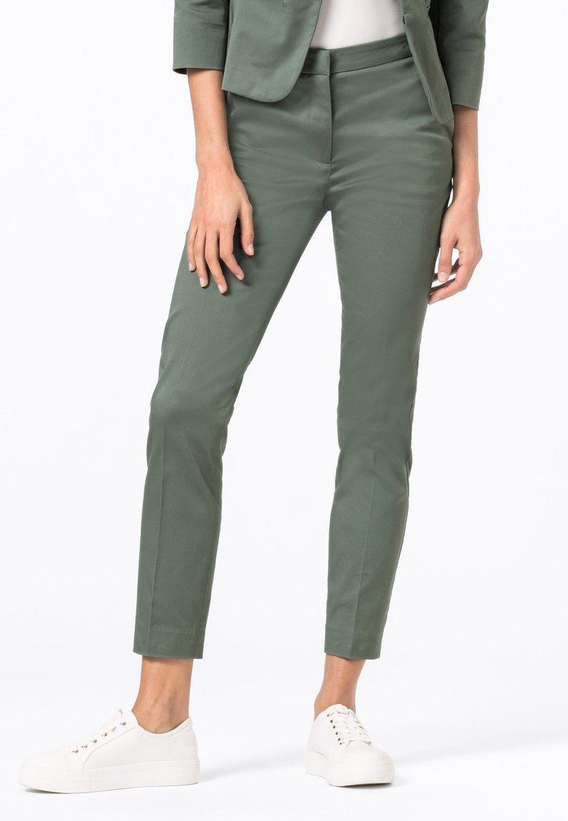HALLHUBER - CHARLOTTE  - Trousers - seegrün