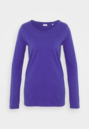 LONG SLEEVE CREW NECK SLIM FIT - Top s dlouhým rukávem - cool purple
