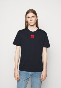 HUGO - DIRAGOLINO - Basic T-shirt - dark blue - 0