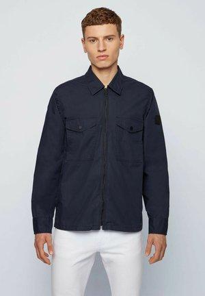 LOVEL-ZIP_7 - Shirt - dark blue