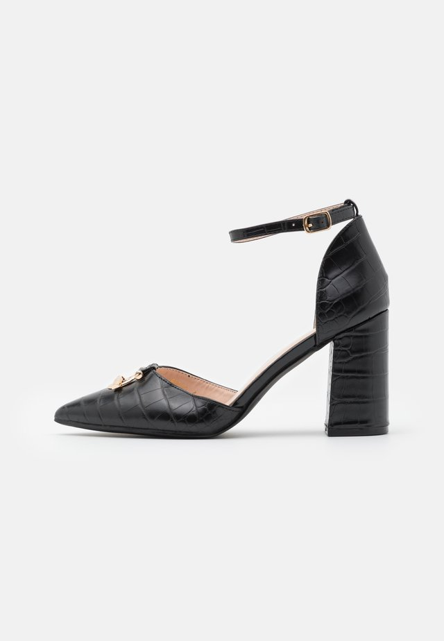 BELLA - Zapatos altos - black