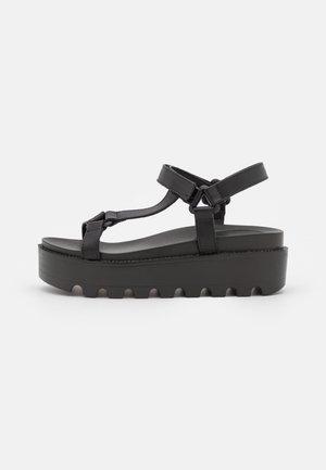 VEGAN AMARI BARELY THERE  - Sandales à plateforme - black