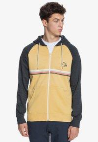 Quiksilver - EVERYDAY - Zip-up sweatshirt - rattan - 0