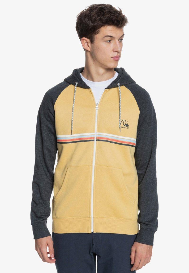 Quiksilver - EVERYDAY - Zip-up sweatshirt - rattan