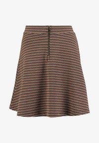 edc by Esprit - A LINE SKIRT - Mini skirt - khaki green - 4