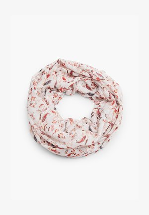 MIT FLORALEM MUSTER - Snood - cream aop