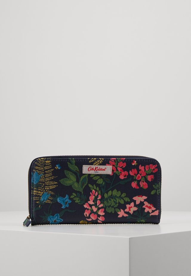 CONTINENTAL ZIP WALLET - Lommebok - navy