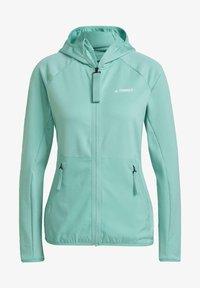 adidas Performance - Fleece jacket - green - 7