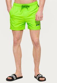 Superdry - BEACH VOLLEY  - Swimming shorts - sunblast green - 1