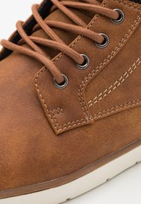 Pier One - High-top trainers - cognac - 5