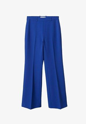 Trousers - blauw