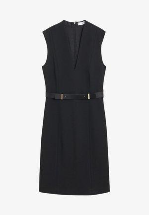UNA - Day dress - schwarz