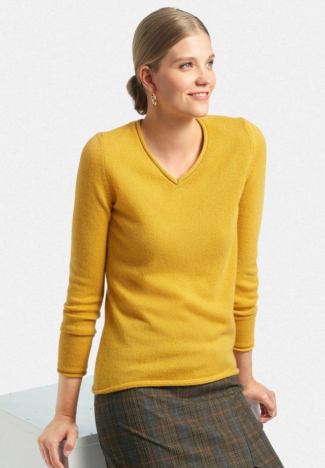 Pullover - maisgelb