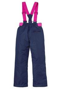 Boden - Snow pants - schuluniform-navy, regenbogen - 1