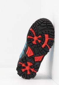 TrollKids - KIDS TROLLTUNGA MID UNISEX - Hiking shoes - medium blue/red - 5