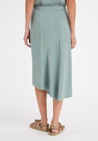 ARMEDANGELS - AASY - A-line skirt - eucalyptus green - 2
