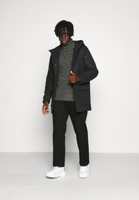 Redefined Rebel - OLIVER ROLL NECK - Jumper - black - 1