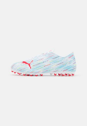 ULTRA 4.2 MG - Astro turf trainers - white/red blast/nrgy blue