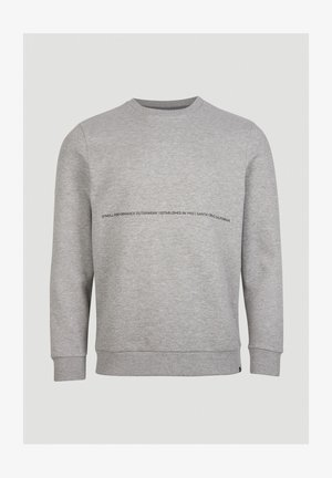BASE CAMP - Sweatshirt - mottled grey
