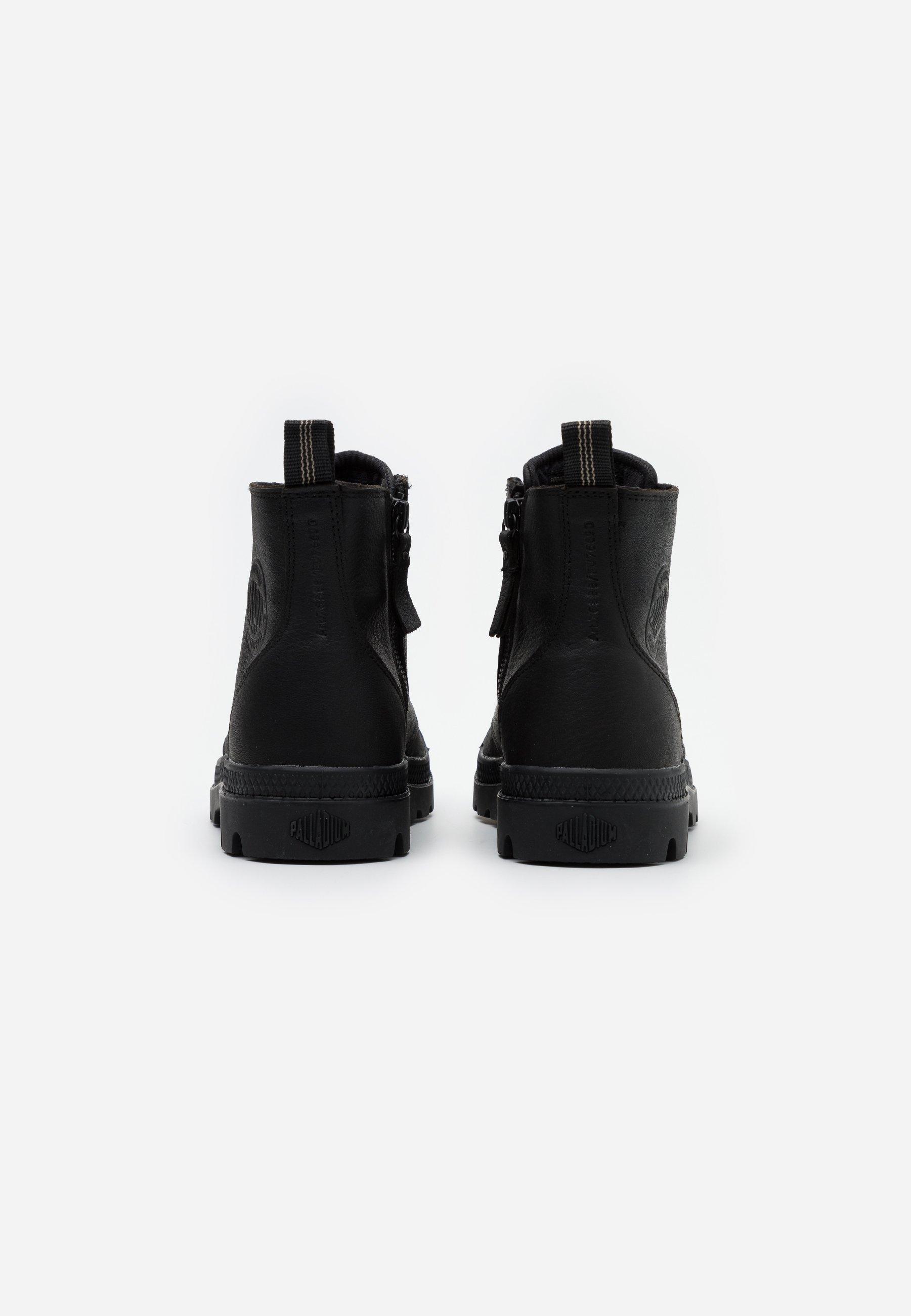 Meilleurs prix Palladium PAMPA ZIP Bottines à lacets black