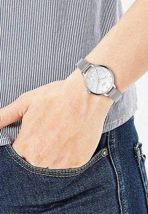 Watch - slver-coloured